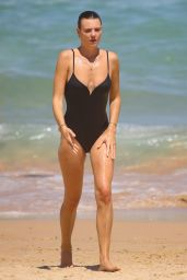 Montana Cox in a Swimsuit at the Beach in Sydney 02/22/2021