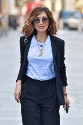 Myleene Klass in Black Trouser Suit - London 02/05/2021