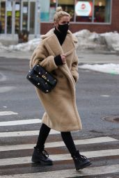Nicky Hilton Winter Style - New York City 02/09/2021