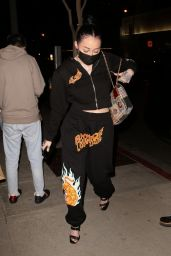Noah Cyrus - Boa Steakhouse in West Hollywood 02/08/2021