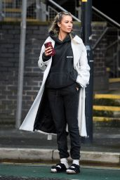 Olivia Attwood in Comfy Outfit - Manchester 02/05/2021