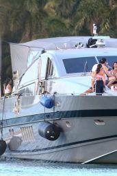 Olivia Culpo at a Boat Party in Miami Beach 02/05/2021