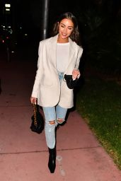 Olivia Culpo Night Out Style - Miami 02/04/2021