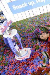 Olivia Culpo - The SHAQ Bowl in Tampa 02/06/2021