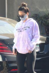 Olivia Munn - Leaving a Gym in LA 02/17/2021