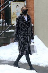 Olivia Palermo Winter Style - Brooklyn 02/03/2021