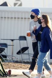 "Olivia Wilde on the Set of ""Don"