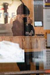 Paige Lorenze - Gets a Coffee in NY 02/11/2021