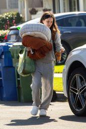 Rachel Bilson in a Grey Sweats - North Hollywood 02/08/2021