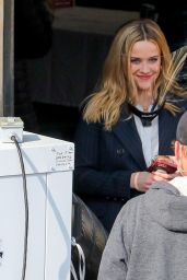 """Reese Witherspoon - """"The Morning Show"""" Set in LA 02/09/2021"""