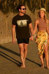 Robbi Jan on the Beach in Malibu 02/14/2021