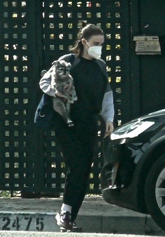 Rooney Mara - With Her Baby in Los Feliz 02/11/2021