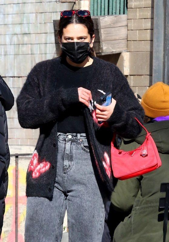 Rosalia Street Style - New York 02/21/2021