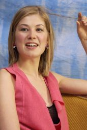"Rosamund Pike - ""Die Another Day"" Press Conference in Beverly Hills"