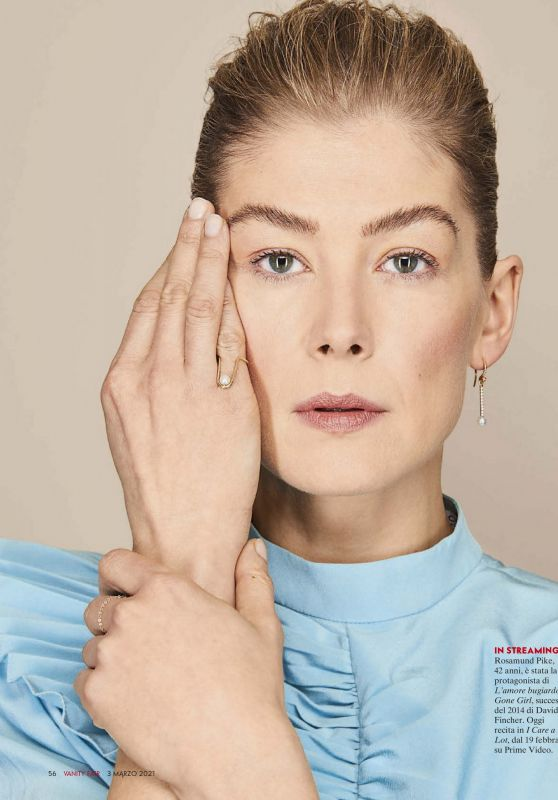 Rosamund Pike - Vanity Fair Italy March 2021 Issue