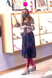 Sarah Jessica Parker at Her Store in NYC 02/06/2021