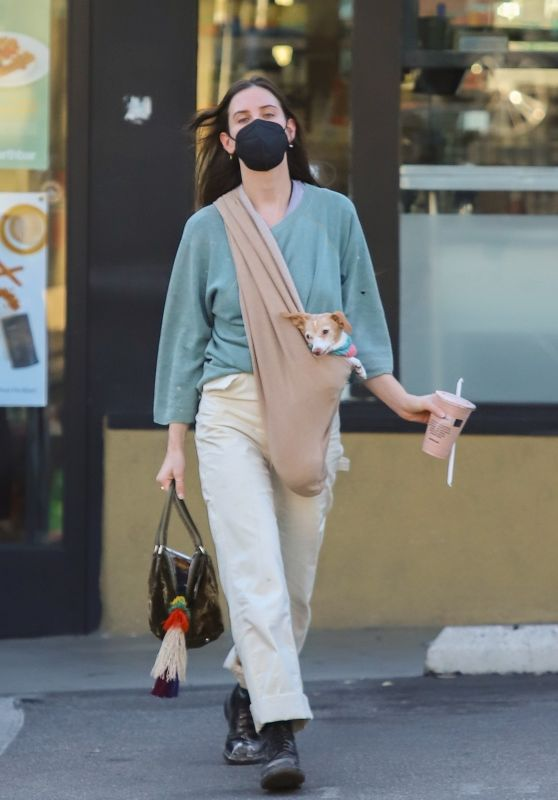 Scout Willis - Earthbar in West Hollywood 02/04/2021