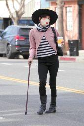 Selma Blair Chic Style - Los Angeles 02/02/2021