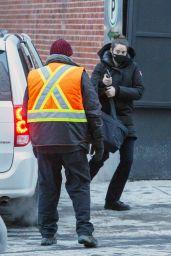 "Shailene Woodley - ""Misanthrope"" Set in Montreal 02/11/2021"
