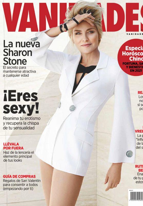 Sharon Stone - Vanidades Mexico February 2021 Issue