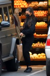 Shay Mitchell - Grocery Shopping in Los Angeles 02/09/2021