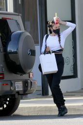 Shay Mitchell - Shopping in LA 02/05/2021