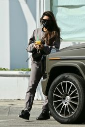 Shay Mitchell - Stops by P.volve Fitness Studio in West Hollywood 02/11/2021