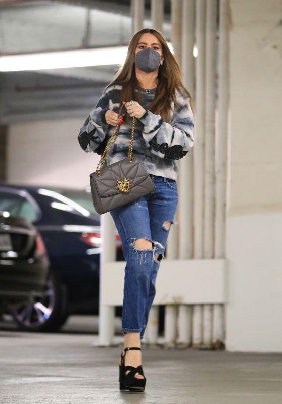 Sofia Vergara - Running Errands in Beverly Hills 02/18/2021