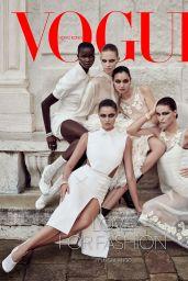 Taylor Hill - Vogue Hong Kong February 2021