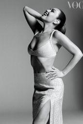 Thalia - Vogue Magazine Mexico February 2021