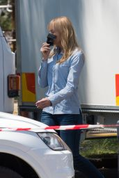 """Toni Collette - Filming """"Pieces of Her"""" in Sydney 02/11/2021"""