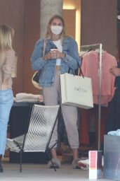Tori Praver at Switch Boutique in Bel-Air 02/15/2021