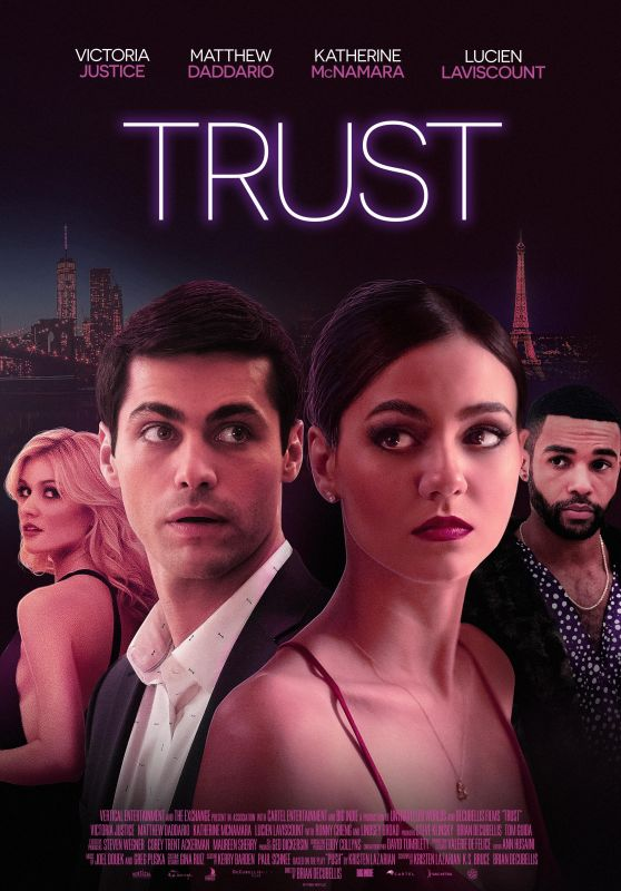 """Victoria Justice and Katherine McNamara - """"Trust"""" Poster and Trailer"""