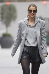 Vogue Williams at Global Radio in London 02/28/2021