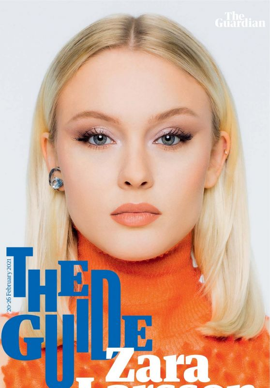 Zara Larsson - Guardian The Guide 02/20//2021 Issue