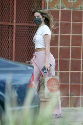 Addison Rae - Leaving a Hair Salon in West Hollywood 03/15/2021
