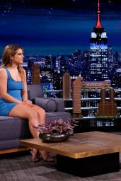 """Addison Rae - """"The Tonight Show Starring Jimmy Fallon"""" in NYC 03/26/2021"""