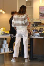Alessandra Ambrosio at Caffe Luxxe in Brentwood 03/03/2021