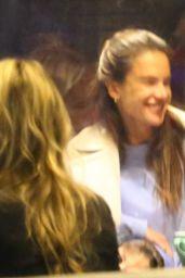 Alessandra Ambrosio at Katsuya Restaurant in Brentwood 03/16/2021