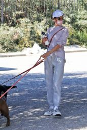 Alessandra Ambrosio - Out For a Hike in LA 03/04/2021