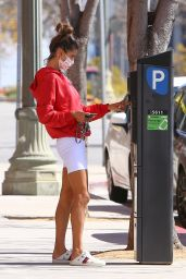 Alessandra Ambrosio - Out in Brentwood 03/21/2021