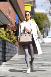 Alessandra Ambrosio - Out in Los Angeles 03/10/2021