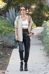 Alessandra Ambrosio Street Style - Los Angeles 03/18/2021