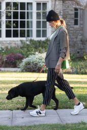 Alessandra Ambrosio - Walking Her Dog in Santa Monica 03/24/2021