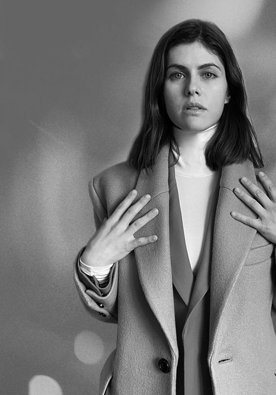 Alexandra Daddario - AMI FW21 Paris Collection 2021