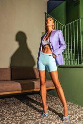 Alexis Ren - Versace March 2021