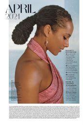 Alicia Keys - Allure USA April 2021 Issue