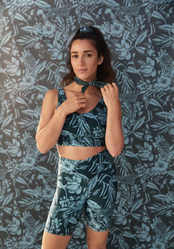 Aly Raisman - Aerie Offline Activewear Collection 2021