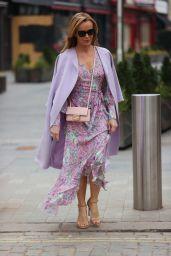 Amanda Holden - Leaving Global Radio in London 03/02/2021