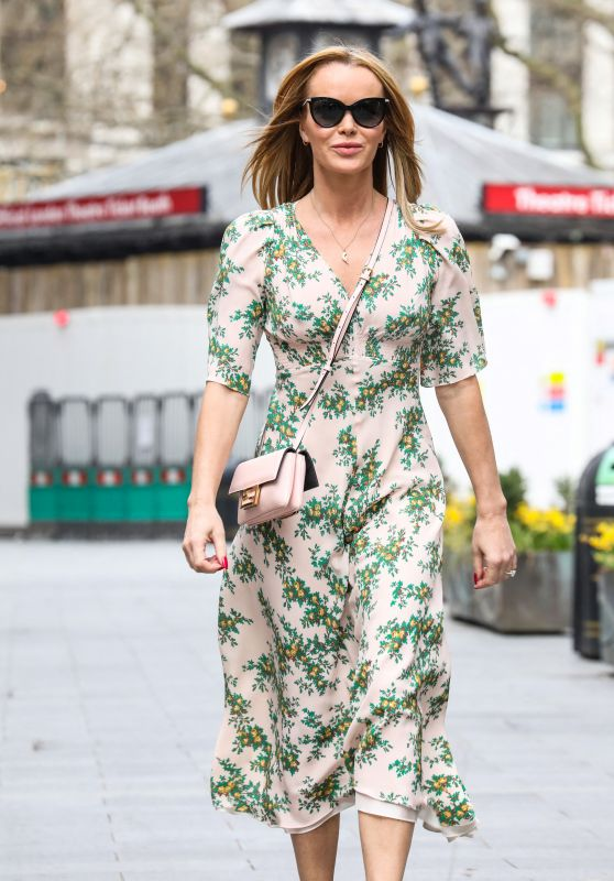 Amanda Holden - Out in London 03/31/2021